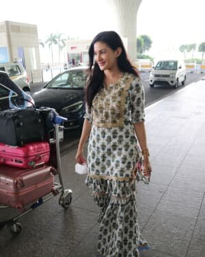 Amyra Dastur - Photos: Celebs Spotted At Airport | Picture 1756106
