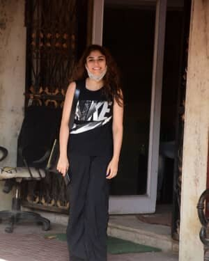 Sharmin Segal - Photos: Celebs Spotted At Gym In Khar | Picture 1756797