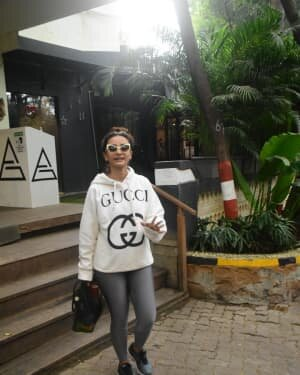 Patralekha - Photos: Celebs Spotted At Gym In Bandra