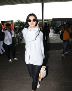 Sonal Chauhan - Photos: Celebs Spotted At Airport | Picture 1758075