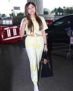 Kanika Kapoor - Photos: Celebs Spotted At Airport