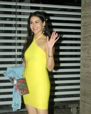Photos: Amyra Dastur Spotted At Bunty Sajdeh House