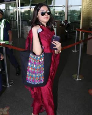 Divya Khosla - Photos: Celebs Spotted At Airport | Picture 1760750