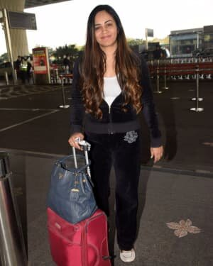 Sanchita Puri - Photos: Celebs Spotted At Airport
