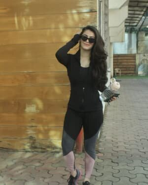 Shivaleeka Oberoi - Photos: Celebs Spotted At Gym In Andheri | Picture 1760755