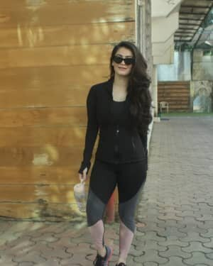 Shivaleeka Oberoi - Photos: Celebs Spotted At Gym In Andheri