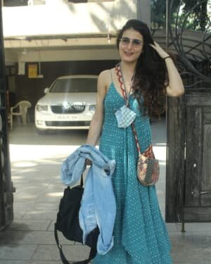 Fatima Sana Shaikh - Photos: Celebs Spotted At Juhu