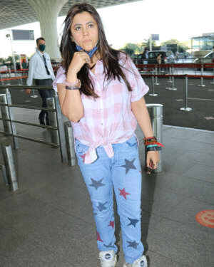 Ekta Kapoor - Photos: Celebs Spotted At Airport