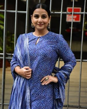 Photos: Vidya Balan Spotted At Siddharth Roy Kapoor's Office | Picture 1745313