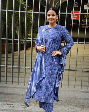 Photos: Vidya Balan Spotted At Siddharth Roy Kapoor's Office | Picture 1745309