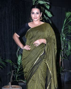 Photos: Vidya Balan Spotted At Siddharth Roy Kapoor's Office | Picture 1745397