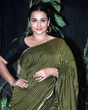 Photos: Vidya Balan Spotted At Siddharth Roy Kapoor's Office | Picture 1745396