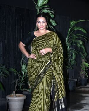 Photos: Vidya Balan Spotted At Siddharth Roy Kapoor's Office | Picture 1745395