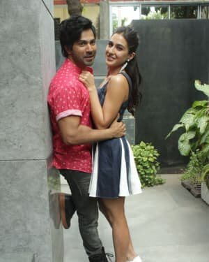 Photos: Promotion Of Film Coolie No 1 At Pooja Films Office | Picture 1750958