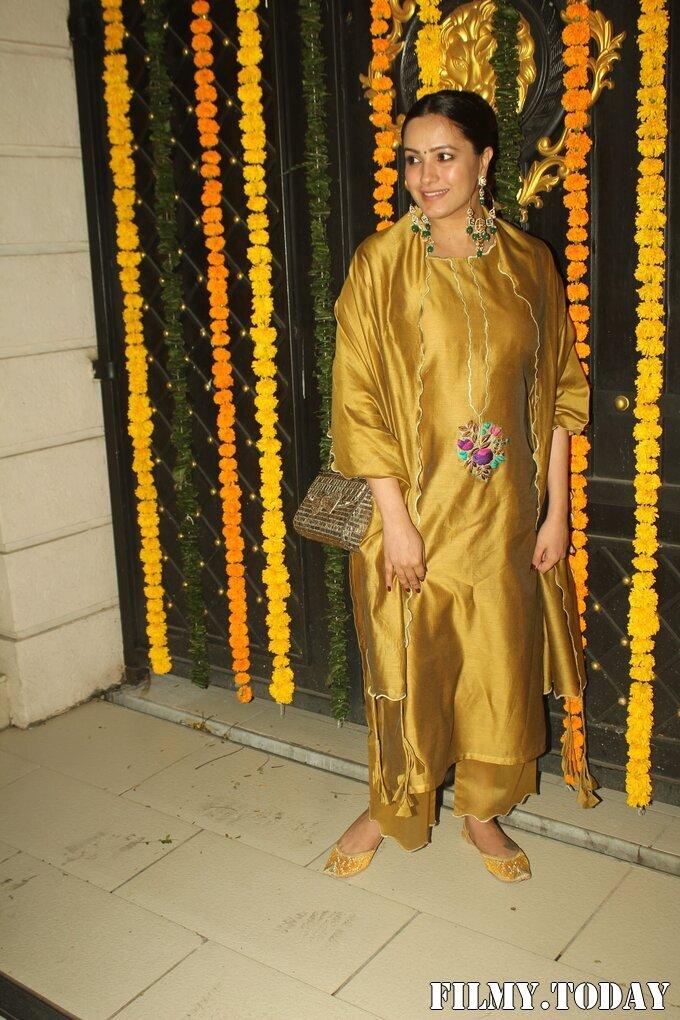 Anita Hassanandani - Photos: Ekta Kapoor's Diwali Party At Her House   Picture 1751179