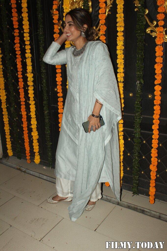Hina Khan - Photos: Ekta Kapoor's Diwali Party At Her House | Picture 1751222