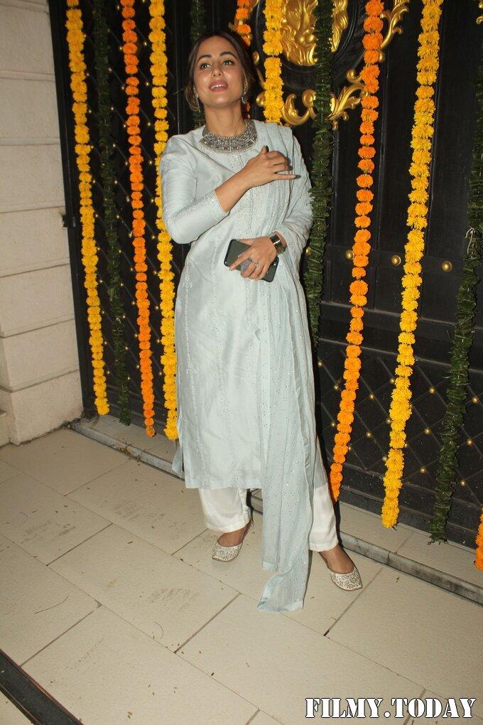 Hina Khan - Photos: Ekta Kapoor's Diwali Party At Her House | Picture 1751225