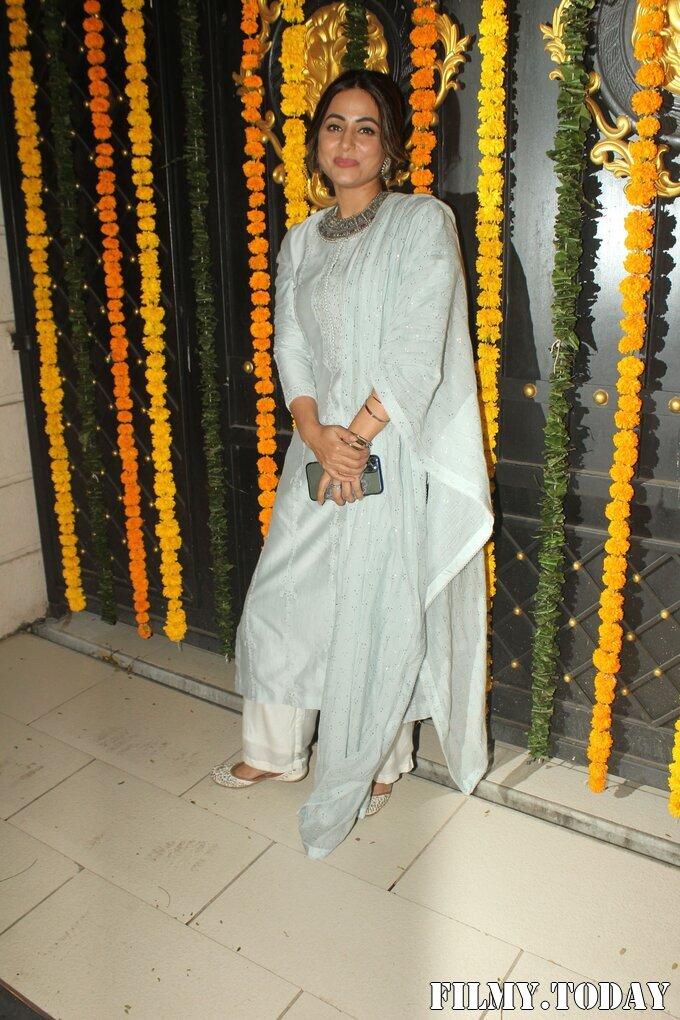 Hina Khan - Photos: Ekta Kapoor's Diwali Party At Her House | Picture 1751223