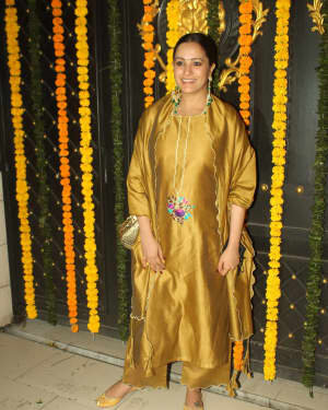 Anita Hassanandani - Photos: Ekta Kapoor's Diwali Party At Her House