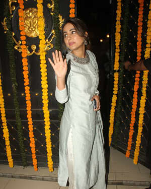 Hina Khan - Photos: Ekta Kapoor's Diwali Party At Her House