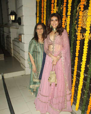 Karishma Tanna - Photos: Ekta Kapoor's Diwali Party At Her House | Picture 1751165