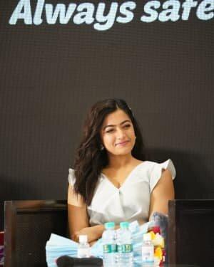 Photos: Rashmika Mandanna Announced As Sanipro Brand Ambassador | Picture 1750578