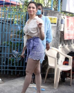 Tamanna Bhatia - Photos: Celebs Spotted At Bandra | Picture 1782916