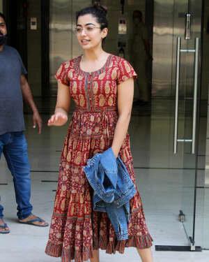 Rashmika Mandanna - Photos: Celebs Spotted At Khar | Picture 1785276