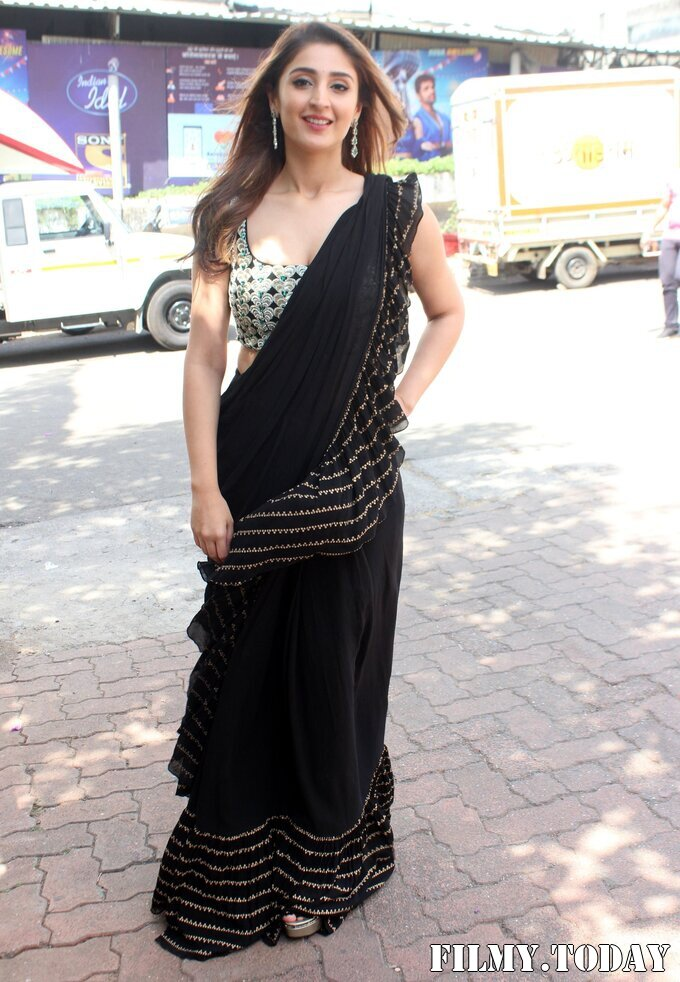 Dhvani Bhanushali - Photos: Celebs On The Sets Of Indian Idol At Filmcity | Picture 1786753