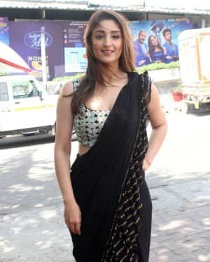 Dhvani Bhanushali - Photos: Celebs On The Sets Of Indian Idol At Filmcity