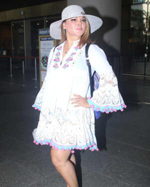 Rakhi Sawant - Photos: Celebs Spotted At Airport | Picture 1790022