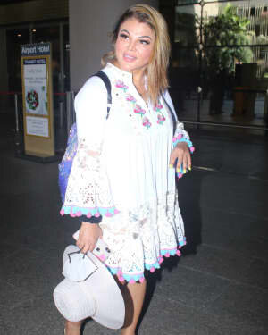 Rakhi Sawant - Photos: Celebs Spotted At Airport | Picture 1790027