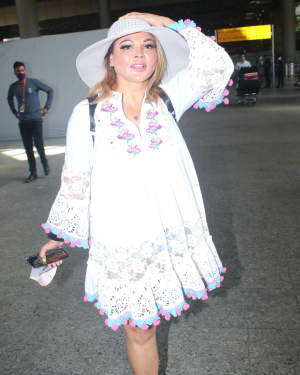 Rakhi Sawant - Photos: Celebs Spotted At Airport | Picture 1790039