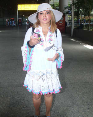 Rakhi Sawant - Photos: Celebs Spotted At Airport | Picture 1790037