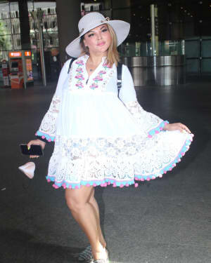 Rakhi Sawant - Photos: Celebs Spotted At Airport | Picture 1790034