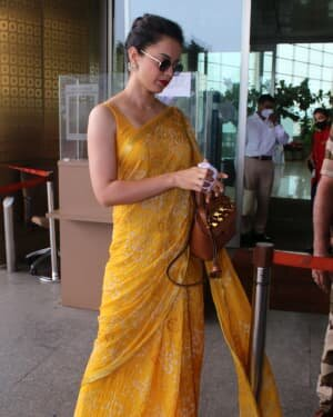 Kangana Ranaut - Photos: Celebs Spotted At Airport   Picture 1790079