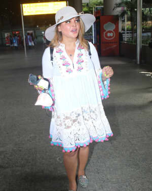 Rakhi Sawant - Photos: Celebs Spotted At Airport | Picture 1790035