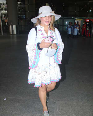 Rakhi Sawant - Photos: Celebs Spotted At Airport | Picture 1790031