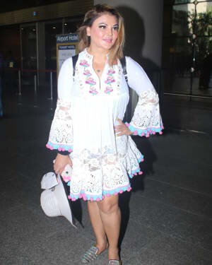 Rakhi Sawant - Photos: Celebs Spotted At Airport | Picture 1790026