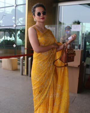 Kangana Ranaut - Photos: Celebs Spotted At Airport   Picture 1790082