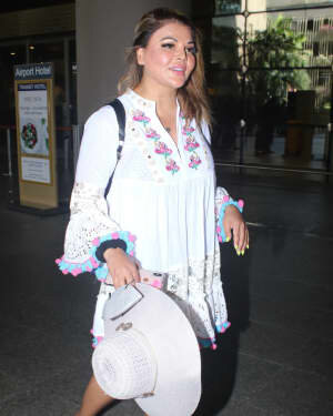 Rakhi Sawant - Photos: Celebs Spotted At Airport | Picture 1790029