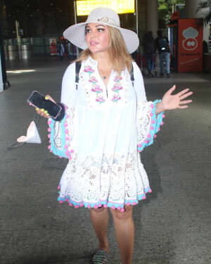 Rakhi Sawant - Photos: Celebs Spotted At Airport | Picture 1790036