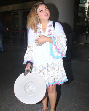 Rakhi Sawant - Photos: Celebs Spotted At Airport | Picture 1790024