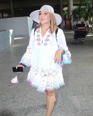 Rakhi Sawant - Photos: Celebs Spotted At Airport | Picture 1790038