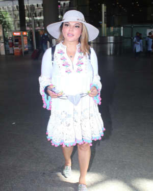 Rakhi Sawant - Photos: Celebs Spotted At Airport | Picture 1790032
