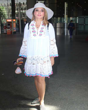 Rakhi Sawant - Photos: Celebs Spotted At Airport | Picture 1790033