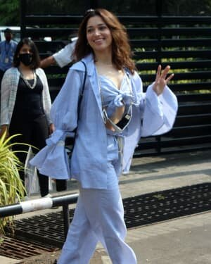 Tamanna Bhatia - Photos: Celebs Spotted At Kalina Airport | Picture 1789037