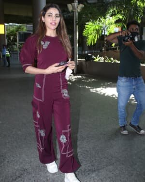 Nikki Tamboli - Photos: Celebs Spotted At Airport | Picture 1791771
