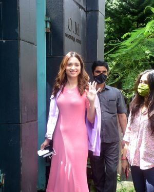 Tamanna Bhatia - Photos: Celebs Spotted At Maddock Office