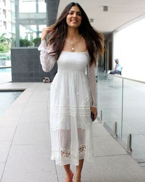 Photos: Malavika Mohanan Snapped During Birthday Celebration   Picture 1820776